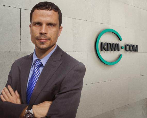 Mario Gavira, vicepresidente de crecimiento de Kiwi.com