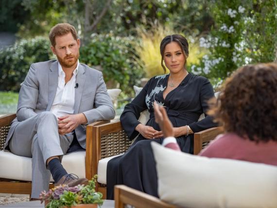 El príncipe Harry y Meghan Markle se sentaron con Oprah Winfrey para dar una entrevista sin precedentes.