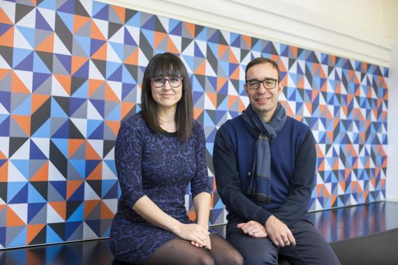Noelia Novella y Nuno Rodrigues, fundadores de Doinn.