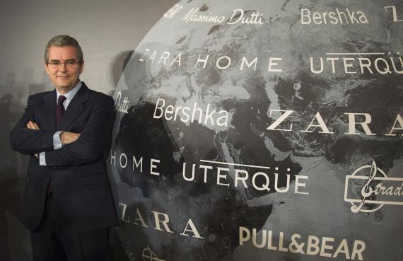 Presidente de Inditex, Pablo Isla