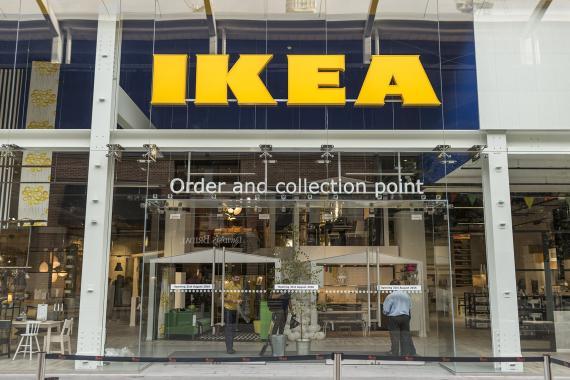 En imagen, una tienda Ikea.