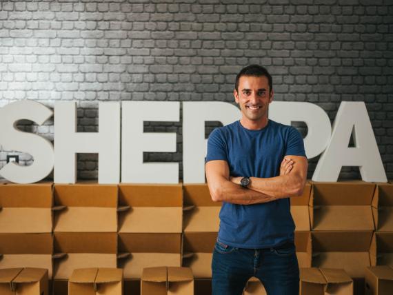 Xabi Uribe-Etxebarría, fundador y CEO de Sherpa.ai