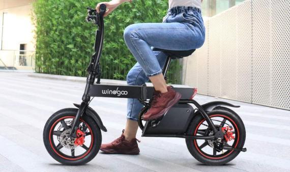 Bicicleta eléctrica Windgoo
