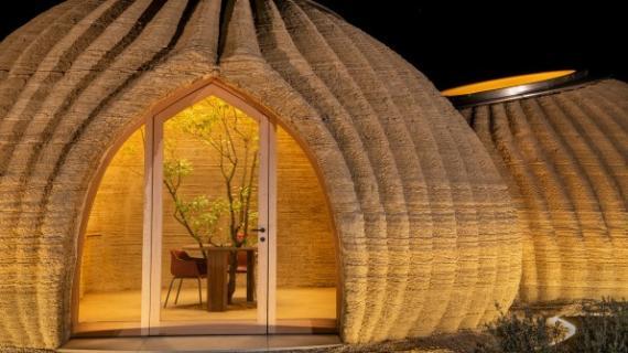 Casa fabricada con una impresora 3D gigante