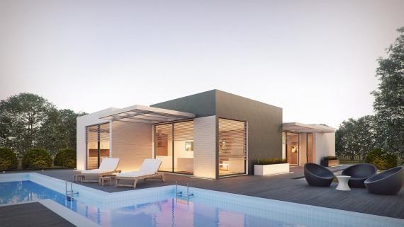 Las casas prefabricadas de hormigón son las más caras (Pixabay)