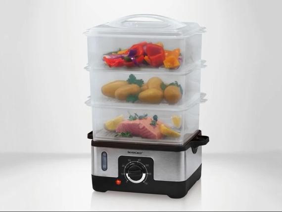 Cocedor eléctrico al vapor de Lidl: cocina alimentos de forma sana y con todos sus nutrientes por menos de 25 euros