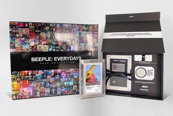 La colección de arte digital de Beeple ocupa el primer puesto de los NFT más caros (beeple-collect.com)