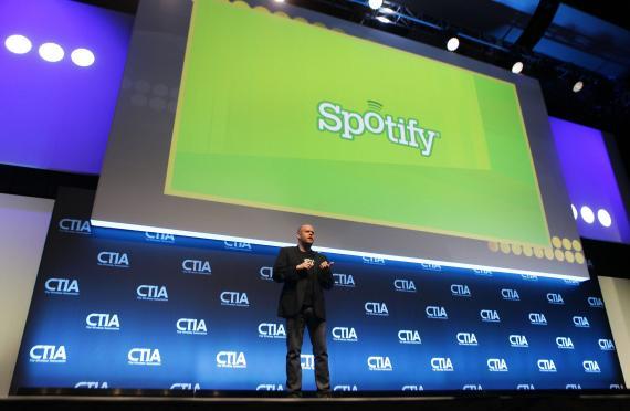 Daniel Ek, uno de los fundadores de Spotify (Reuters)