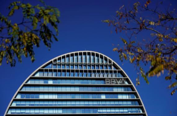 Edificio BBVA en España.