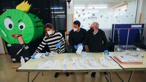 Elecciones en Cataluña en plena pandemia.