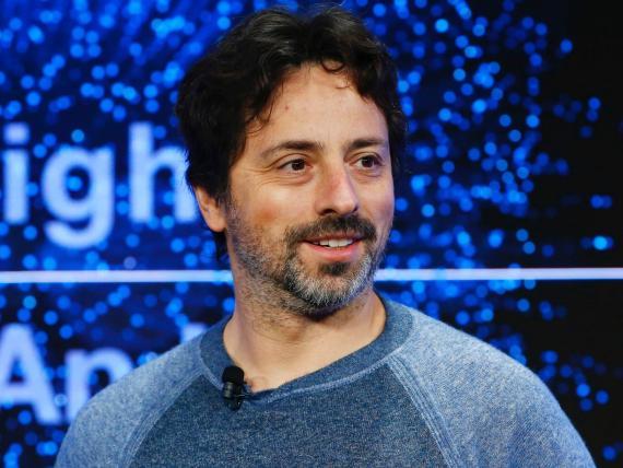 El cofundador de Google, Sergey Brin.