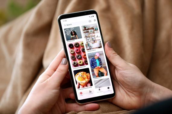 Imagen de la aplicación de Pinterest