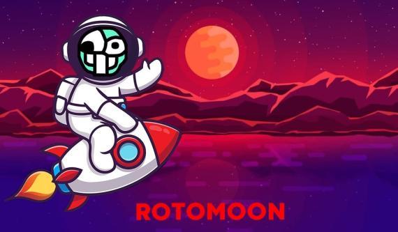 Imagen del logotipo de la criptomoneda RotoMoon en ForoCoches
