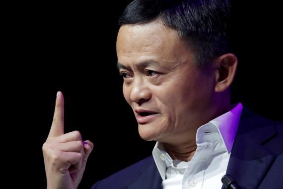 Jack Ma, fundador y presidente de Alibaba. Charles Platiau/Reuters