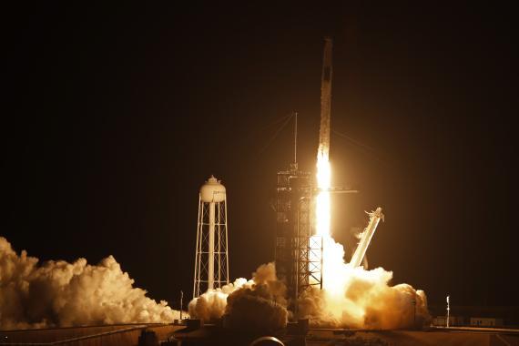 Lanzamiento de la Space X Crew-2 el pasado 23 de abril en Florida, Estados Unidos.