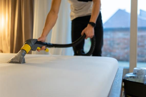 Limpiar el colchón correctamente