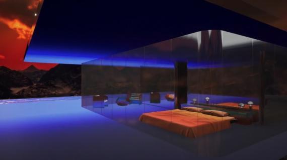 """La """"Casa de Marte""""."""