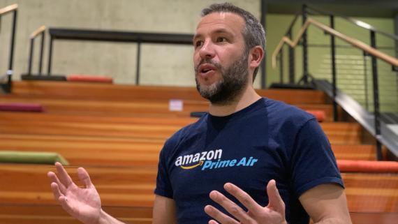 Miguel Ortega, jefe de Producto de Estrategia Digital para Amazon Groceries.