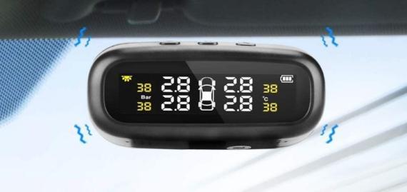 Monitor de presión de neumáticos