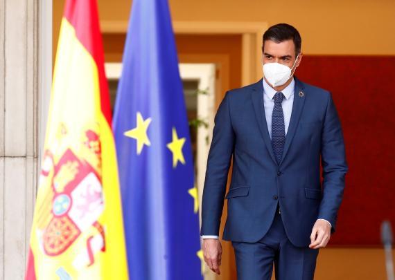 Pedro Sánchez anuncia que el 70% de los españoles estarán vacunados a finales de agosto y descarta prorrogar el estado de alarma