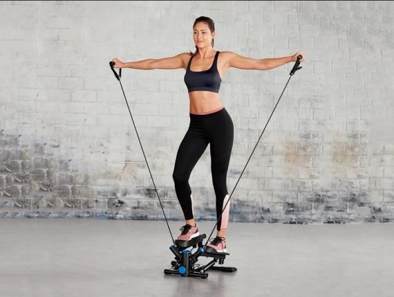Swing Stepper: el 'minigimnasio' de Lidl para hacer ejercicio en casa por menos de 50 euros que se ha agotado en horas