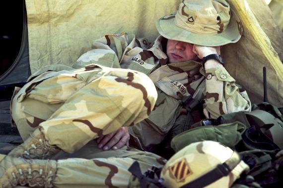 La técnica de los soldados para dormir rápido