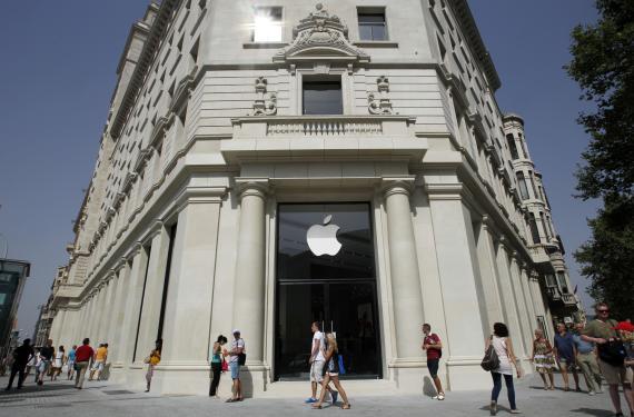 Tienda Apple en Barcelona