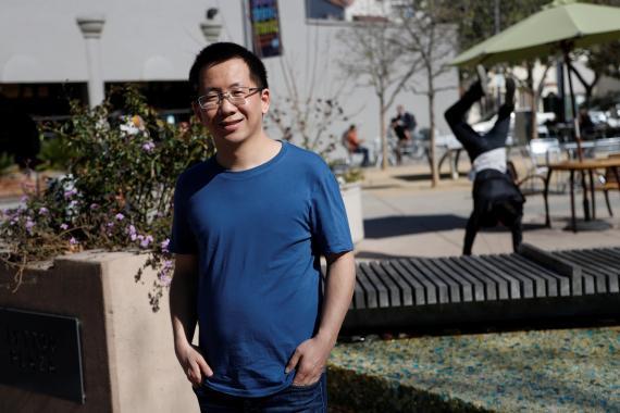 Zhang Yiming, fundador de ByteDance, que está detrás de TikTok.