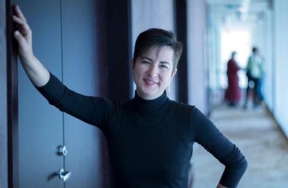 Ana Sarmiento, especialista en diversidad generacional e integración de la juventud en el mundo de los negocios, recientemente nombrada una de las 'Top 100 Mujeres de España'.