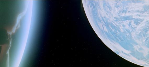 Imagen de '2001: Una odisea en el espacio'.