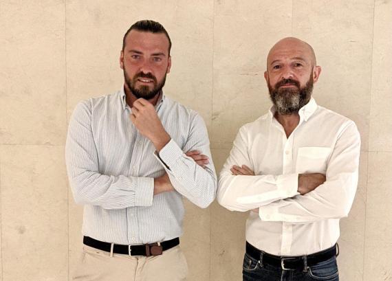 Borja de Francisco y Antonio Batanero, fundadores de Spazious