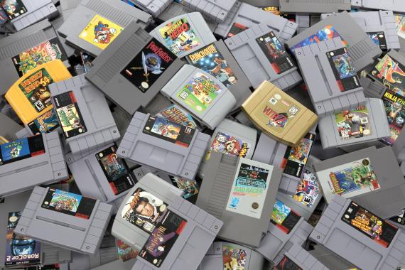 Cartuchos juegos Nintendo
