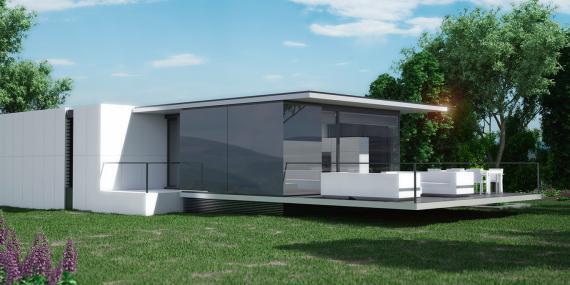 Las casas prefabricadas de Nevo incluyen todo el proceso.