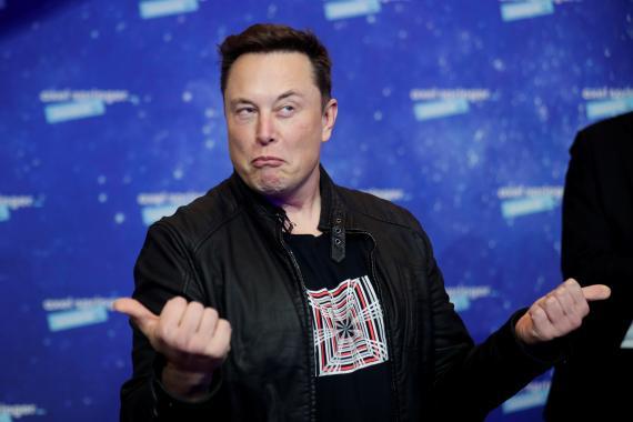 Elon Musk, el fundador de Space X.