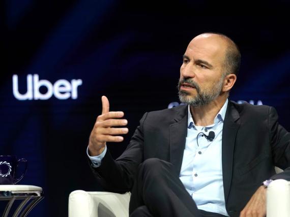 El CEO de Uber, Dara Khosrowshahi