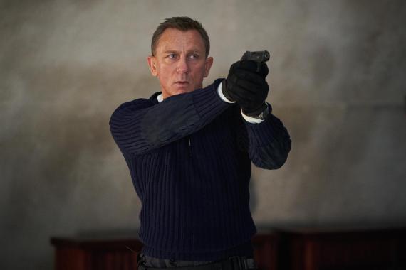 """Daniel Craig en """"No time to die""""."""