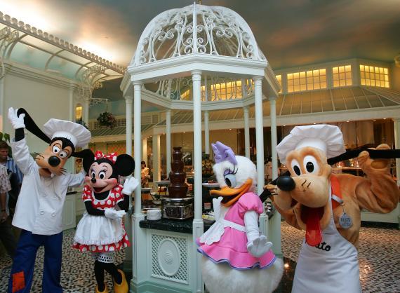 Disney restaurante