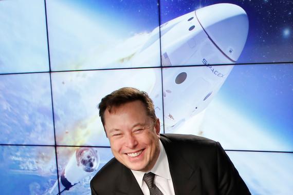 El CEO de Space X y Tesla, Elon Musk. Joe Skipper/Reuters