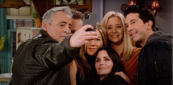 Frame del tráiler oficial de 'Friends: The Reunion'.