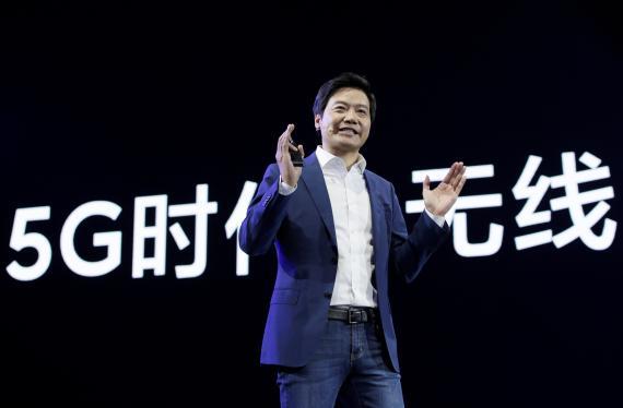 El fundador de Xiaomi, Lei Jun, durante un acto en Pekín en 2019