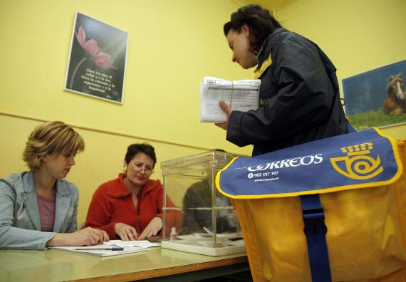 Si has solicitado el voto por correo, no puedes votar de forma presencial