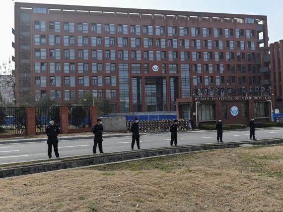 Instituo de virología de Wuhan