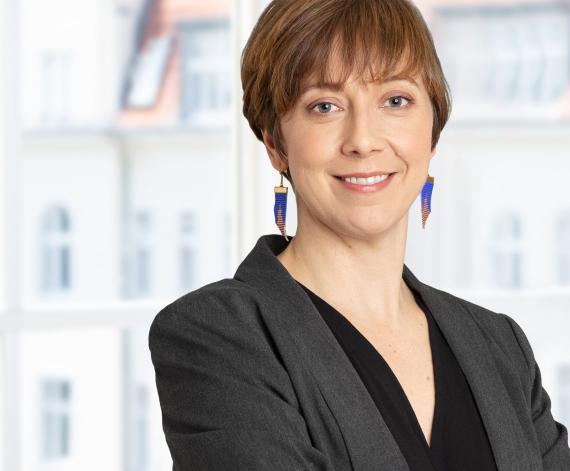 Kate Heiny, directora de Sostenibilidad de Zalando.