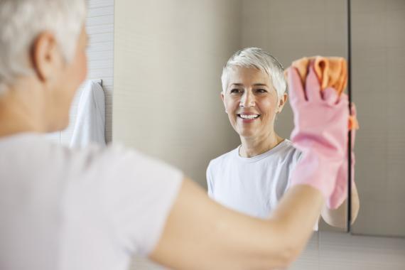 Limpiar espejo