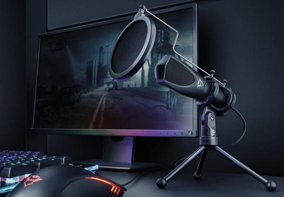micrófono trust gaming mantis
