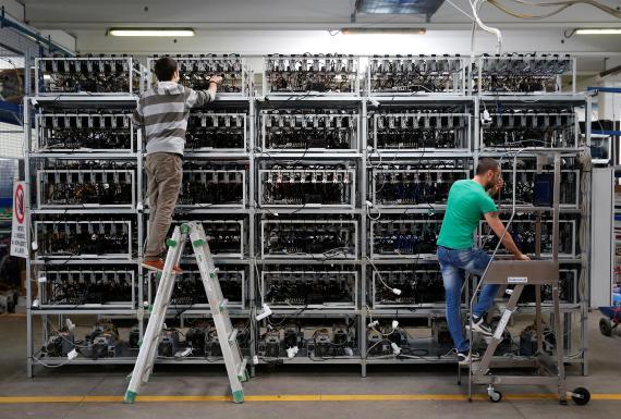Minado de Bitcoin