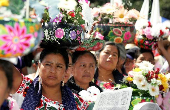 Mujeres mexicanas indígenas