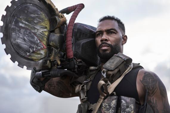 Omari Hardwick en el papel de Vanderohe en 'Army of dead' ('Ejército de los muertos').
