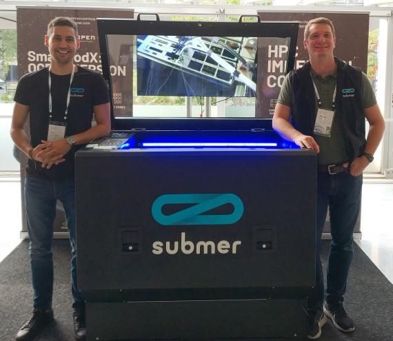 Pol Valls y Daniel Pope, fundadores de Submer.