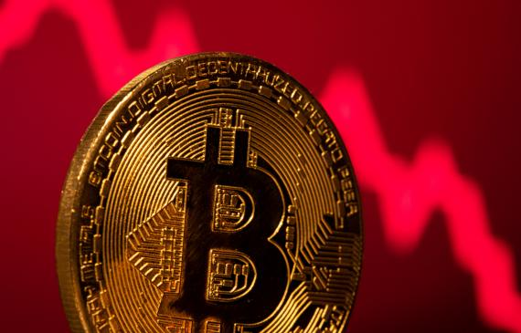 Representación de una criptomoneda de Bitcoin. REUTERS/Dado Ruvic.